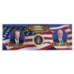 President Donald J. Trump and Vice President Pence Inauguration Panorama Magnet from the White House Gift Shop