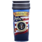 President Donald J. Trump and Vice President Pence Inauguration Travel Mug from the White House Gift Shop