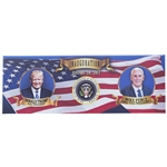 President Donald J. Trump and Vice President Pence Inauguration Bumper Magner from the White House Gift Shop