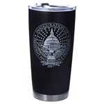 President Elect Donald J. Trump 45th President Copper Lined 20-Ounce Travel Mug with Inauguration Official Seal