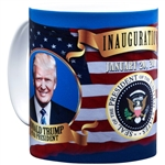 President Donald J. Trump and Vice President Pence Inauguration Official Photo Mug from the White House Gift Shop