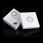 Washington D.C. Buildings inside Lucite Keychain , Gift Box