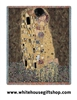 "Gustav Klimt ""The Kiss"" Tapestry Blanket Throw, SALE"