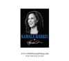 Vice President Kamala Harris Magnet, Joseph R. Biden, 46th President of the United States, Official White House Gift Shop Est by Secret Service Agents