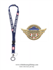 Front Line Workers Heroes of COVID-19, Gold Pin for Lanyard, Uniform, or Lapel. Designed by artist Anthony Giannini for the original Secret Service White House Gift Shop.
