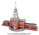 Independence Hall 3D Puzzle