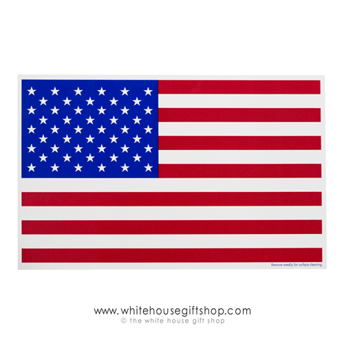American Flag Magnet, Large 5 by 8 inches quality Made in USA magnets from The official original White House Gift Shop, honors United States of America and manufactured in U.S.A.