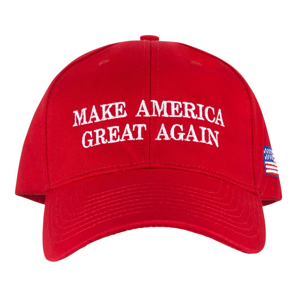 Trump Hat President Make America Great Again MAGA Baseball Cap RED Flag Classic