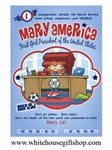 Mary America: First Girl President of the United States by Carole Marsh, 120 pages, Paperback Book