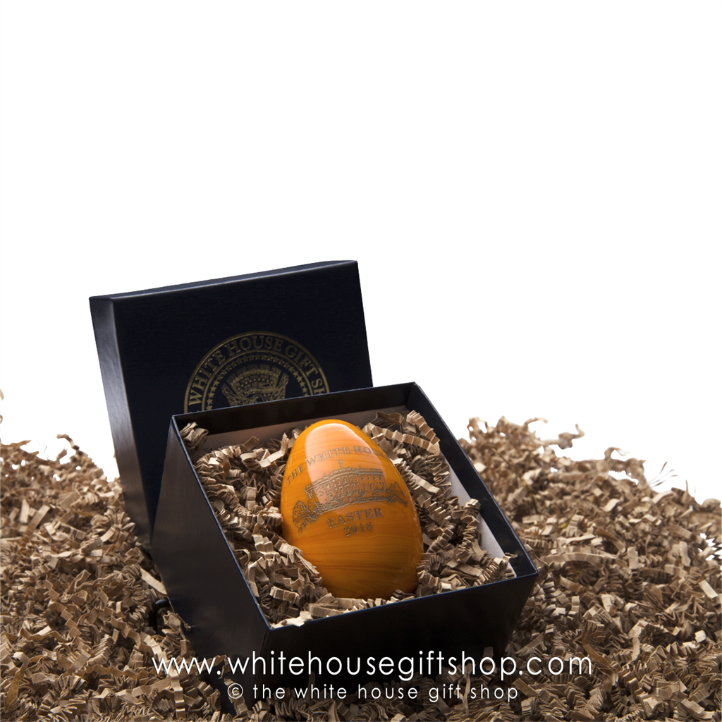 2018 white house glass heirloom easter egg hand made in usa by larger photo email a friend negle Image collections