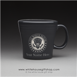 coffee-mug-white-house-dining-room-seal of the president-slate-mugs-white house gift shop-designed and hand-etched by patriotic artist anthony giannini-fiesta-customized-with-your-name