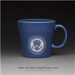 air-force-once-president's-coffee-mug-white-house-dining-room-seal of the president--mugs-white house gift shop-designed and hand-etched by patriotic artist anthony giannini-fiesta-customized-with-your-name