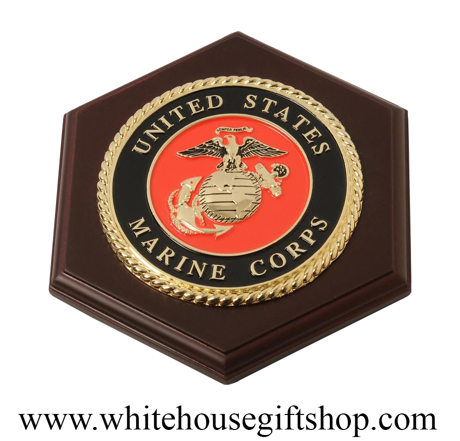 united states marine corps usmc wall plaque medallion made in usa