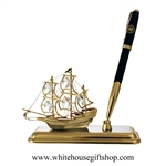 Mayflower with White House Pen