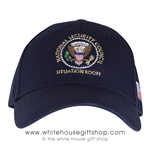 President Obama National Security Council Blue Hat
