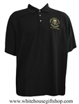 National Security Council Polo Golf Shirt, Black