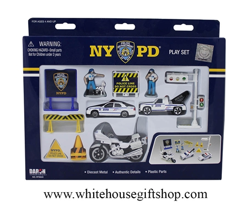 NYPD 13-Piece Toy Set