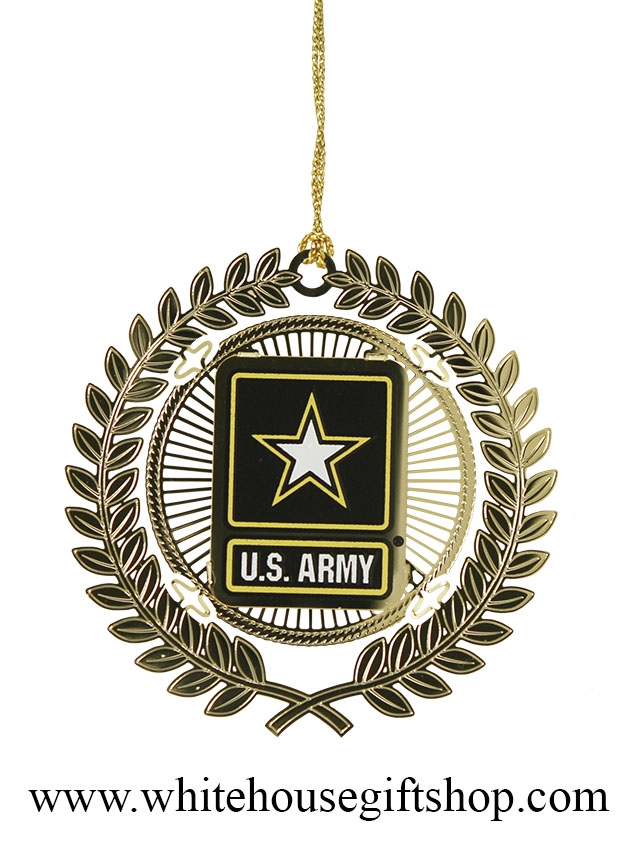 United States Christmas Ornaments Part - 50: Ornaments, United States Army, USA, Holiday U0026 Christmas Ornament Is  Available Now, Authorized Army, 24KT Gold Finished, Handmade In The USA,  24Kt Gold ...