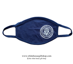 COVID-19 Global Response Face Mask Navy Blue with White Seal of the President of the United States
