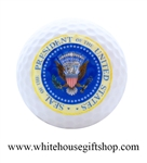 Golf Ball, Presidential Seal, President Of The United States,