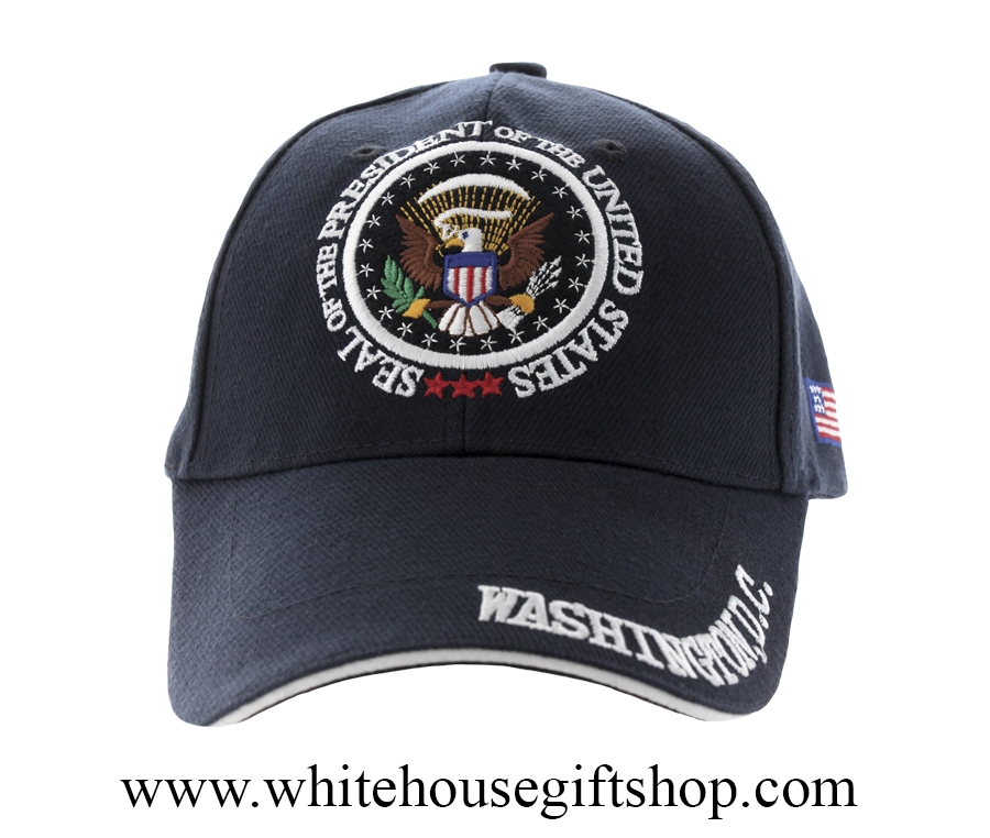 5ef19bc0 Seal of the President, Washington D.C. Hat, Midnight Navy - Imported