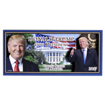 Magnet, Donald Trump WOOD Rectangle 3-Dimensional Collectors Magnet