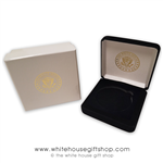 "BLACK VELVET CUSTOM COIN PRESENTATION CASE, FOR COLLECTOR COINS, FITS 2 1/4"" SIZE DIAMETER COIN,  QUALITY VELVET AND OUTER 2-PIECE BOX"