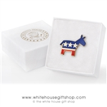 Democrat Pin from the official White House Gift Shop