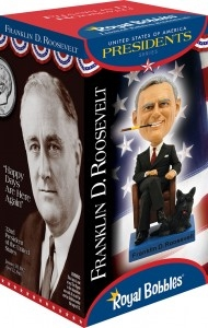 President Franklin D Roosevelt, Washington Bobblehead, Wobbler, Nodder from White House Gift Shop
