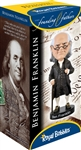 Benjamin Franklin Founding Father  Bobblehead, Wobbler, Nodder from White House Gift Shop