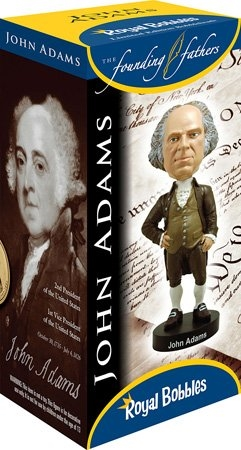 President John Adams Bobblehead, Wobbler, Nodder from The Official White House Gift Shop Established by Presidential Order and Members of U.S. Secret Service