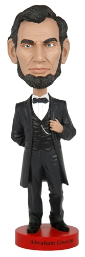 President Abraham Lincoln Bobblehead, Wobbler, Nodder from White House Gift Shop