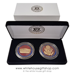 The Pentagon Challenge Coins
