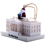 Santa Visits the White House at Christmas