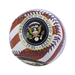 Baseball, Seal of the President, Red, White, and Blue, Gift Boxed from White House Gift Shop