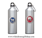 Heritage Pewter Democratic Republican Water Bottles