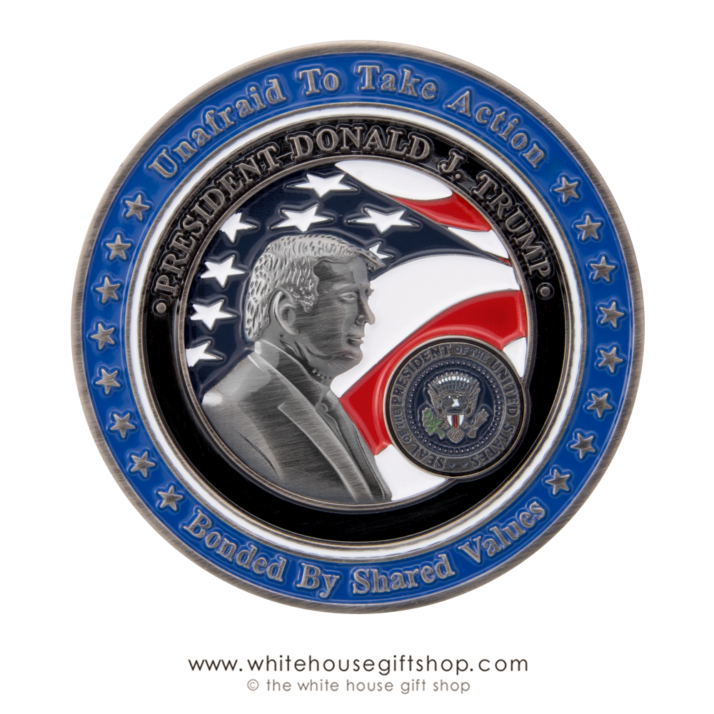#3 Coin in Historic Moments Collection, NOT THE VIETNAM COIN, As Seen in  News Worldwide, The Gathering of Leaders