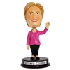 "Presidential DNC Democratic Nominee Hillary Clinton, Boibble Doll Series, Approximately 6"" Tall"
