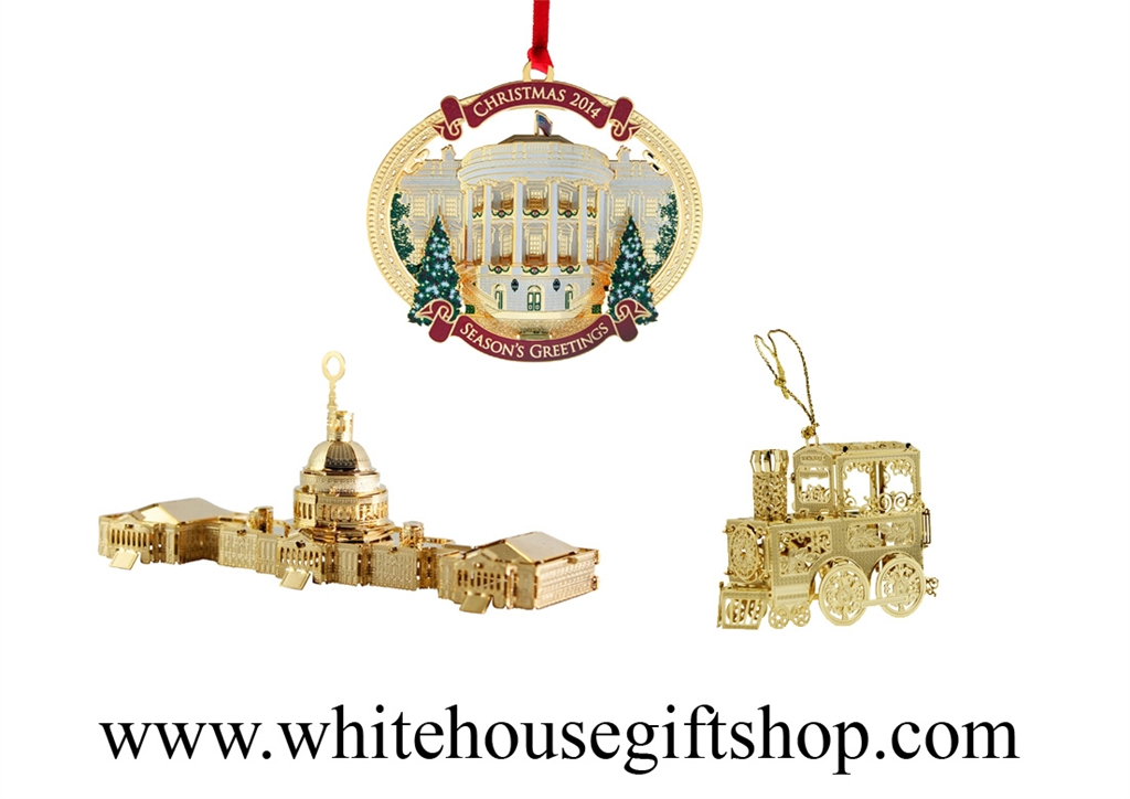 Ornament Gift Collection: 2015 Washington D.C. Annual Architecture Ornament  Collection PLUS the 2014 Christmas Express Train, 2014 TRUMAN'S BALCONY  Ornament ... - Ornament Gift Collection: 2015 Washington D.C. Annual Architecture