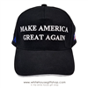 Donald J. Trump, black 100% cotton hat, embroidered in America,  usa flag on side, TRUMP SLOGAN MAGA cap-Make America-Great-Again, KEEP AMERICA GREAT,-from official white house gifts and gift shop-historic elections series