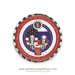 #5 Coin, Numbered, PRE-ORDER Kremlin Summit in Helsinki, President Donald J. Trump & President Vladimir Putin on Front of Coin, 4th Coin, Historic Moments Coins Collection of Original Official White House Gift Shop® Ships August 31st