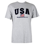 USA, Washington D.C. T-Shirt - Light Gray