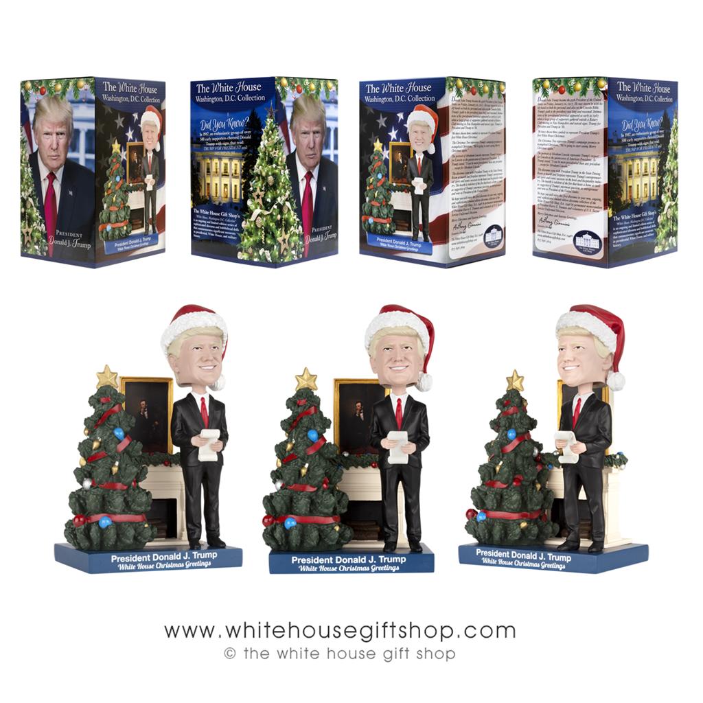 President Trump\'s 1st White House Christmas, Artist\'s Representation ...