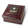 U. S. Army GO Keepsake Wood Box, Made in USA of America, Gift Box from White House Gift Shop,