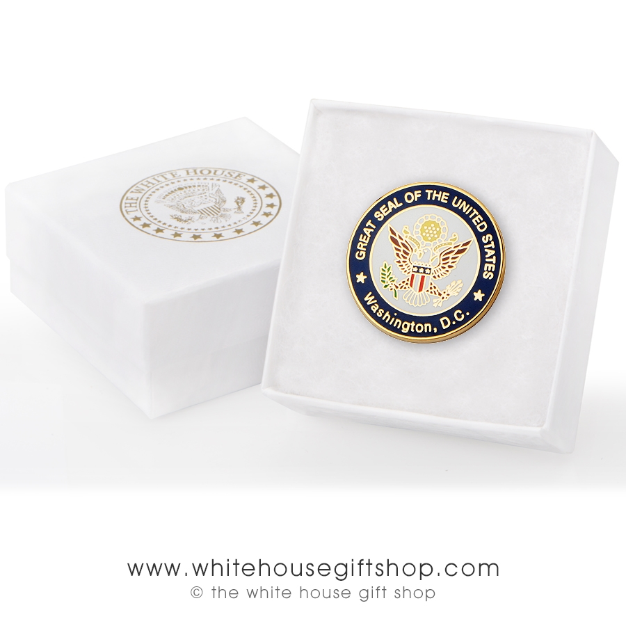 Seal of the president of the united states Pin come with box