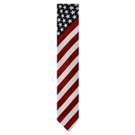 American Flags with Stars Neck Tie from the Official White House Gift Shop