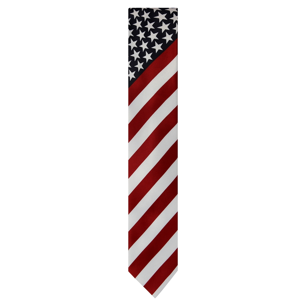 American flag neck tie american flags with stars neck tie from the official white house gift shop and made in publicscrutiny Choice Image