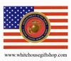 Magnets, United States Marine Corps Magnet and Flag, Sale