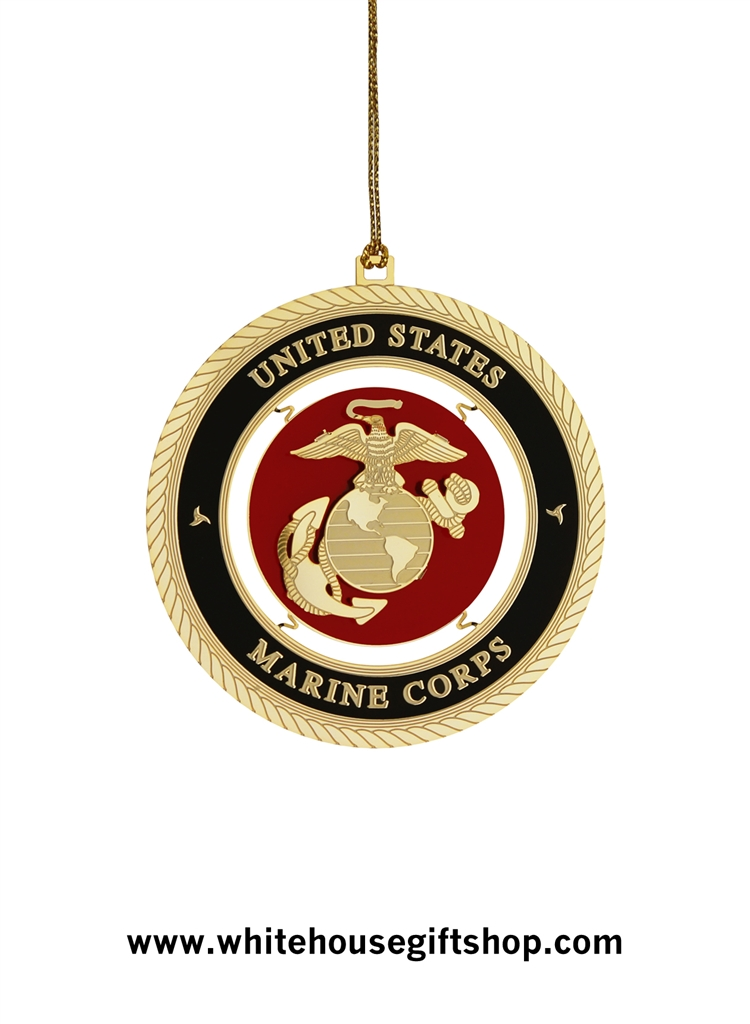 Ornaments,United States Marine Corps Holidays & Christmas ...
