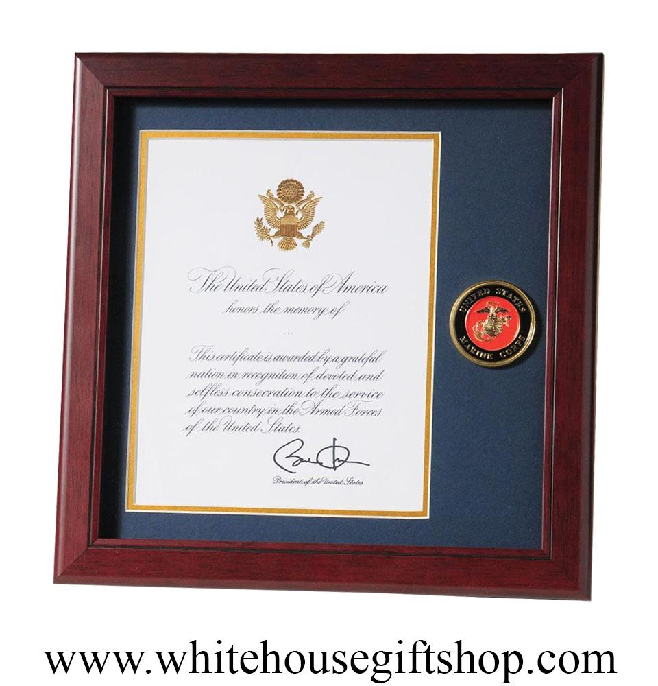 U.S. Marine Corps Medallion 14\